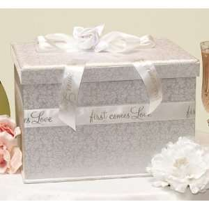 First Comes Love Wedding Card Box: Health & Personal Care