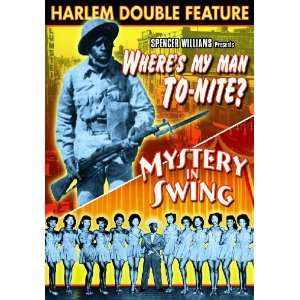 Harlem Double Feature Wheres My Man To Nite? / Mystery