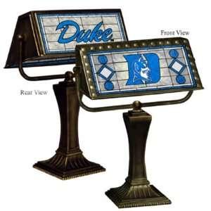 Duke Blue Devils Memory Company Team Art Glass Bankers