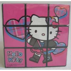 Hello Kitty Large Puzzle Cube   Plaid Toys & Games