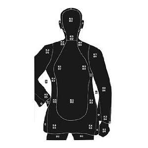 Silhouette (Targets & Throwers) (Paper Targets) Everything Else