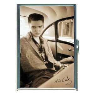 ELVIS PRESLEY PHOTO IN CAR ID CREDIT CARD WALLET CIGARETTE