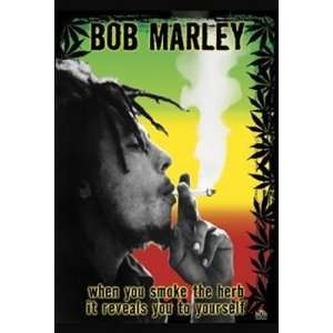 Bob Marley Smoke The Herb Man! by Unknown 24x36 Home