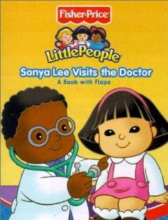 doctor fisher price little people mini flap playbooks by carol monica
