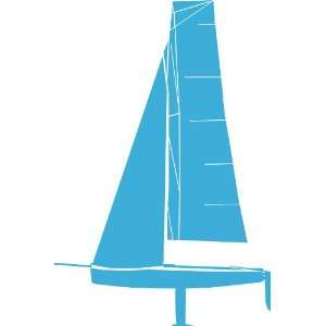 Sail Boat No1 Removable Wall Sticker