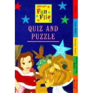 Princes and Princesses Quiz and Puzzle Book (Disney