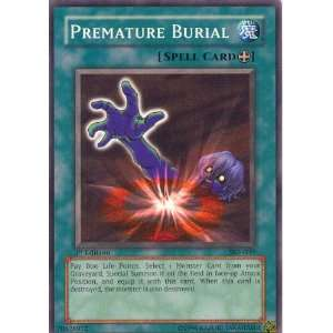 Yu Gi Oh Premature Burial (1st Edition)   Kaiba Evolution Deck  Toys