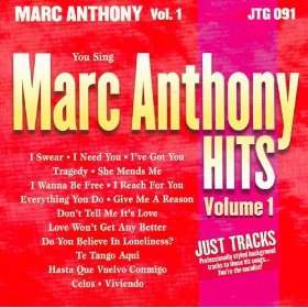 Just Tracks Marc Anthony Hits, Vol. 1 Studio Musicians