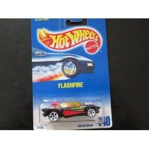 Flashfire, Hot Wheels #140 on Blue/white Card with White 5 Dot Wheels