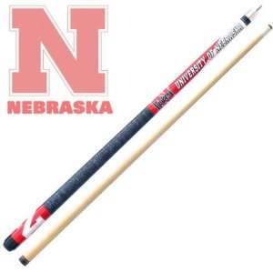 Frenzy Sports Nebraska Cornhuskers Officially Licensed Billiards Cue