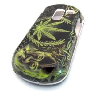 Samsung R455c Straight Talk Green Leaf Ganja Gloss HARD