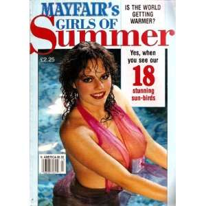 MAYFAIR GIRLS OF SUMMER NO. 3: MAYFAIR: Books