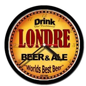 LONDRE beer and ale cerveza wall clock: Everything Else