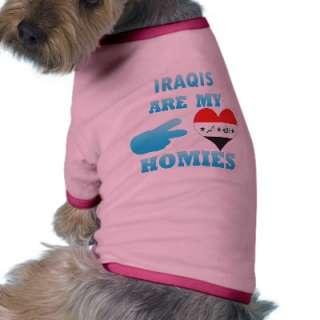 Irishs are my Homies Pet Tee Shirt by representmycountry