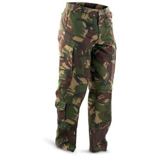 Dutch Military Bdu Pants, Camo   392557, Pants at Sportsmans Guide