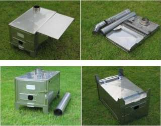 Сamp Stoves Collapsible Wood Camp Stoves
