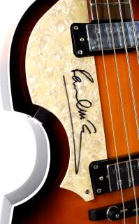 Paul McCartney Beatles Signed Hofner Guitar Caiazzo Thumbnail Image