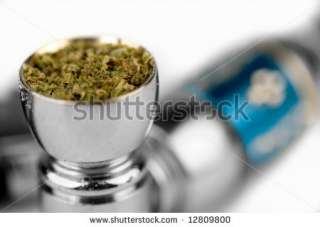 Marijuana In A Smoking Pipe Stock Photo 12809800 : Shutterstock
