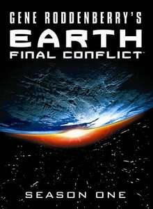 Earth Final Conflict   Season One DVD, 2009, 5 Disc Set 025195036351