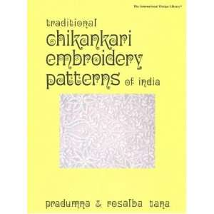 Chikankari Embroidery Patterns of India (International Design Library