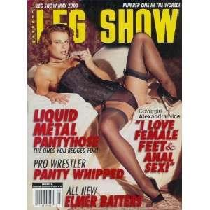 Leg Show Magazine   May 2000: Alexandra Nice, Liquid Metal