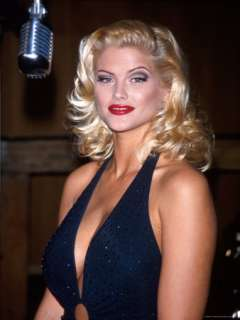 Anna Nicole Smith Premium Photographic Print by Kevin Winter at Art