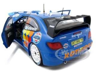 scale diecast car model of citroen xsara wrc t gardemeister j honkanen