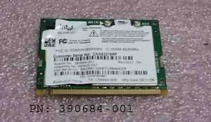 390684 001HP Compaq NC4200 Mini PCI WIFI Wireless Card