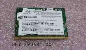 390684 001HP Compaq NC4200 Mini PCI WIFI Wireless Card