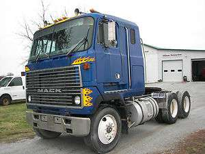 1984 MACK MH613 CAB OVER 450K TANDEM AXLE ALL MACK REAR ENDS 350