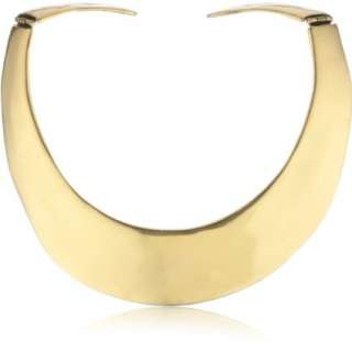 Kenneth Jay Lane Russian Gold Collar Necklace   designer shoes