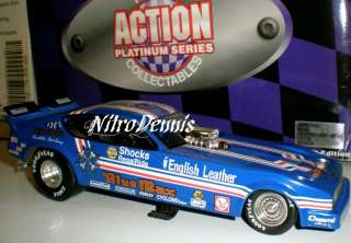 NHRA RAYMOND BEADLE 124 Diecast BLUE MAX Nitro Funny Car Collection