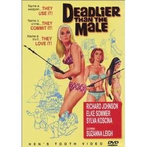 Deadlier Than the Male: Richard Johnson, Elke Sommer