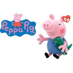 TY Beanie Baby Peppa Pig George (Approximately 7 Inches) .co.uk