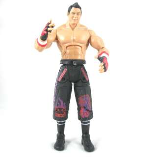 94o WWE Wrestling Deluxe Aggression The Miz figure toy + belt