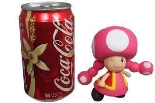 Nintendo Super Mario Bros Toadette Action Figure Girl