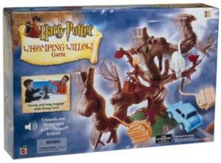 Harry Potter Whomping Willow Game Electronic Action Game NIB 2002 Tree