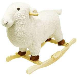Happy rails Plush Rocking Animal, Lamb Bikes & Riding oys