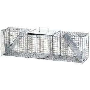 Havahart 1050 Two Door Animal Cage Trap Lrg Raccoon NEW