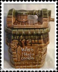 VINTAGE MCCOY COOKIE JAR FOR USE IN KITCHEN OR ANYWHERE