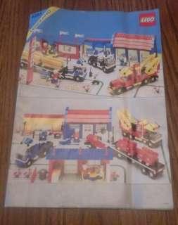 Lego Legoland Town #6393 BIG RIG TRUCK STOP Vintage Set RARE