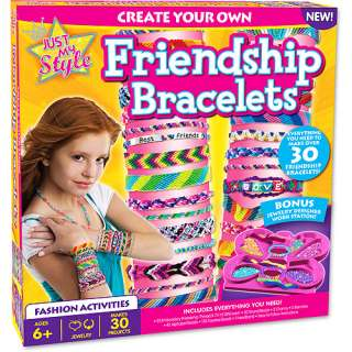 Just My Style Friendship Bracelets Kit Pretend Play, Arts & Crafts