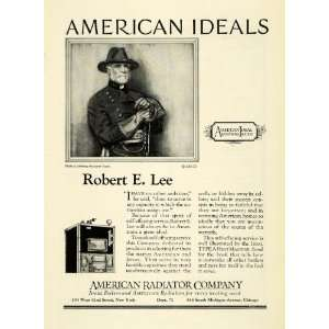 1923 Ad American Ideal Radiators Boilers Home Appliance