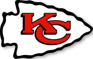 KANSAS CITY CHIEFS   NFL Logo wall,window,sticker,decal