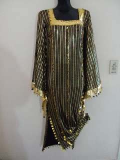 Belly Dance egyptian galabeya dress costume /saidi