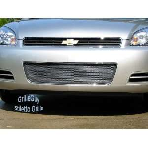 Chevy Impala Chrome Black Front Grille Grille Grill 2006