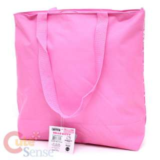 Sanrio Hello Kitty School Tote Bag Diaper Bag Pink Teddy Bear 3