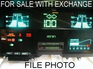 CHEVY OEM S 10 S10 DIGITAL INSTRUMENT CLUSTER DASH IPC