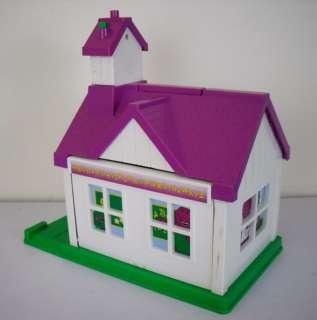 Barney the Dinosaur School House Playset Playhouse Toy