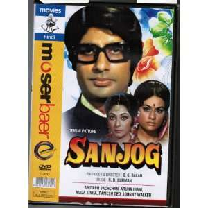 Sanjog (Bollywood Movie) Amitabh Bachchan Movies & TV